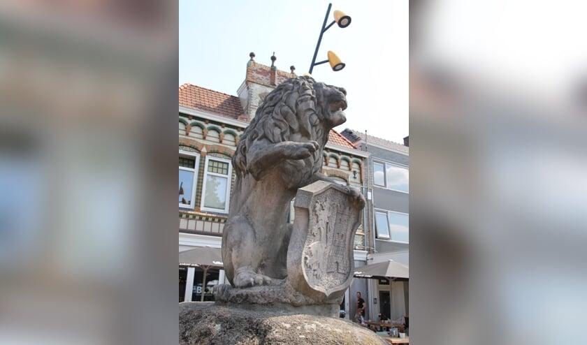 De Lichtenvoordse Leeuw op de Markt. Foto: PR