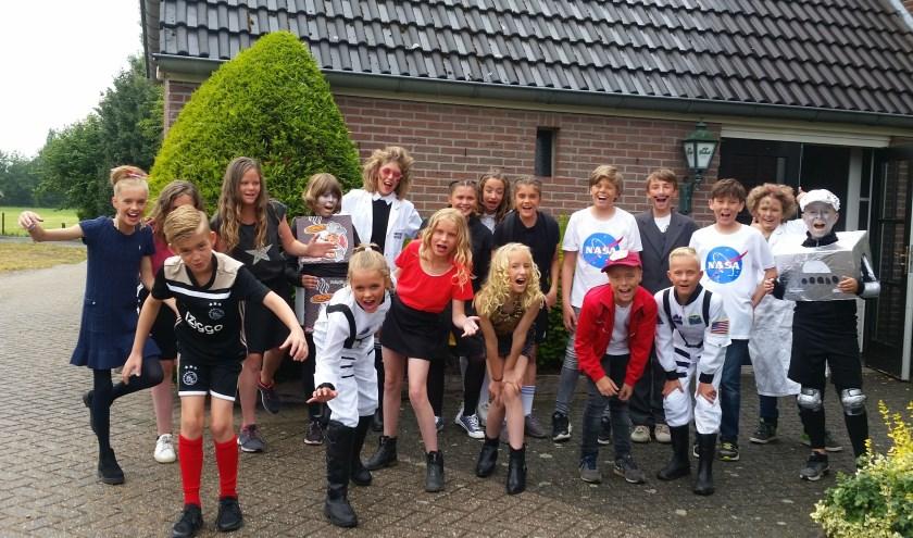 Groep 8  en 7 van de Tormijnschool speelde woensdag de afscheidsmusical. Foto: Sonja Grooters