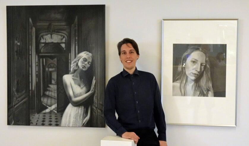 Jasper Dielemans exposeert in het gemeentehuis van Berkelland. Foto: PR