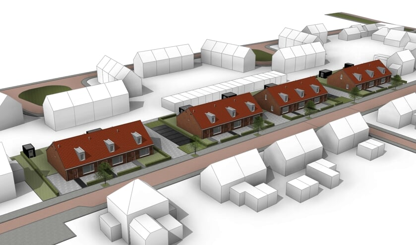 Een impressie van de nieuwe woningen. Afbeelding: PR ProWonen