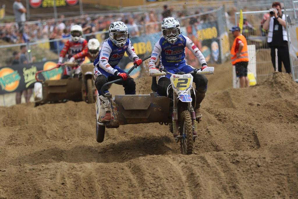 Hermans/Musset op weg naar het Nederlandse kampioenschap. Foto: Albert Schreuder  © Achterhoek Nieuws b.v.