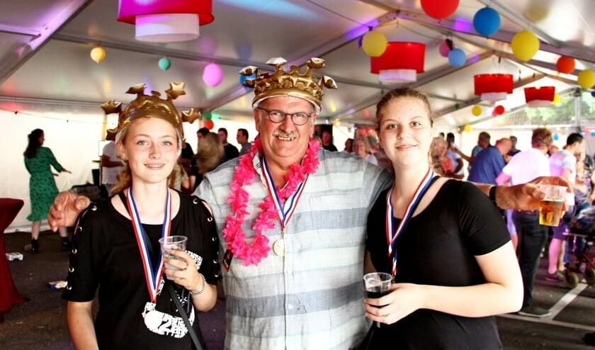 Danique Grievink, Gerard Rosegaar en Daniëlle ten Dam. Foto: Hans Grievink