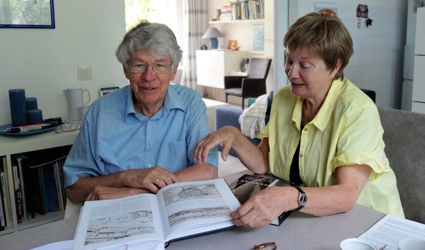 Jan en Astrid Goorhuis thuis. Foto:Clemens Bielen
