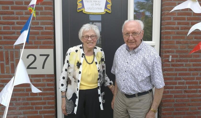 Het echtpaar Schutten-Schlüter. Foto: Rob Weeber