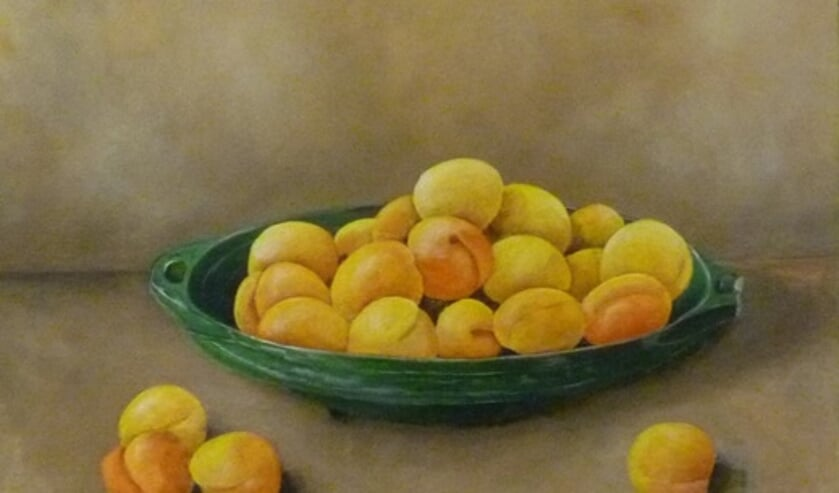 Fruit om zo te willen eten, van schildersgroep Ars Nostra. Foto: PR