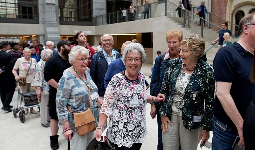 Met de Museum-Plus-Bus naar het Rijksmuseum. Foto: Milagro Elstak