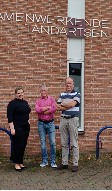 Nora Waanders-Pankoke, Ruud Waanders en Ton Kokkeler. Foto: Rob Stevens