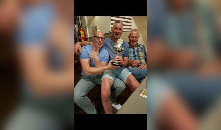 Team De Driehoek wint Driebanden Zomercompetitie. Foto: eigen foto