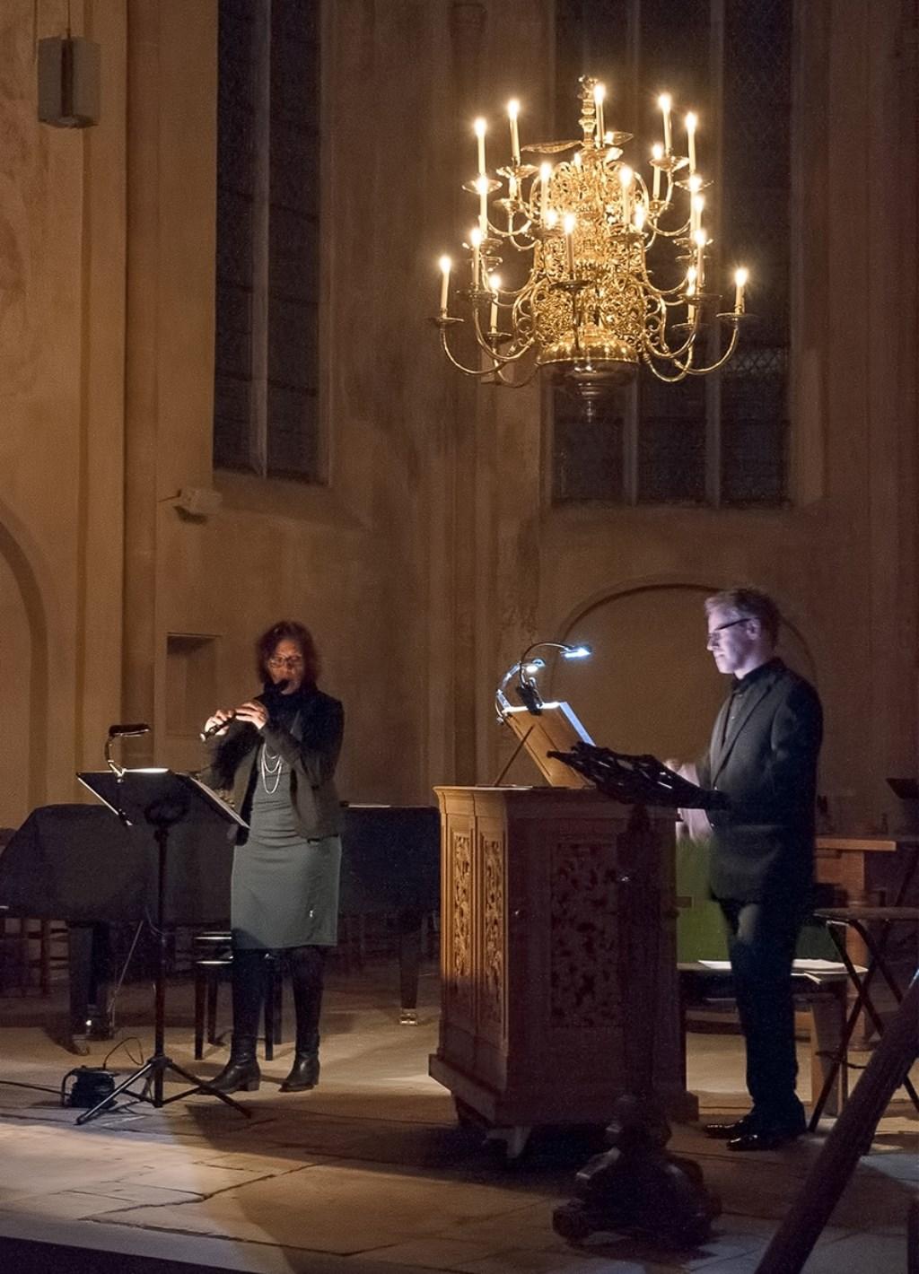 Hanne Feldhaus en Wim Ruessink. Foto: Marinus ter Horst