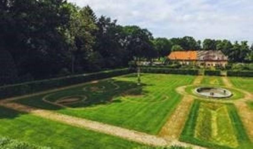 De tuinen bij kasteel Huis Bergh. Foto: PR