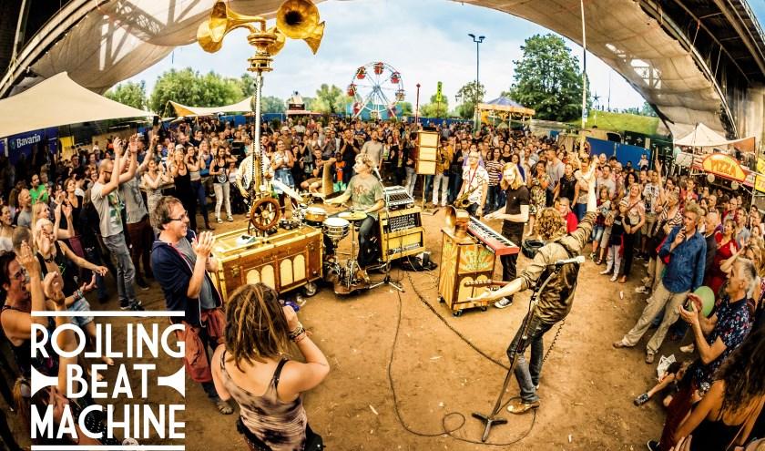 Rolling Beat Machine. Foto: Marcel Krijgsman