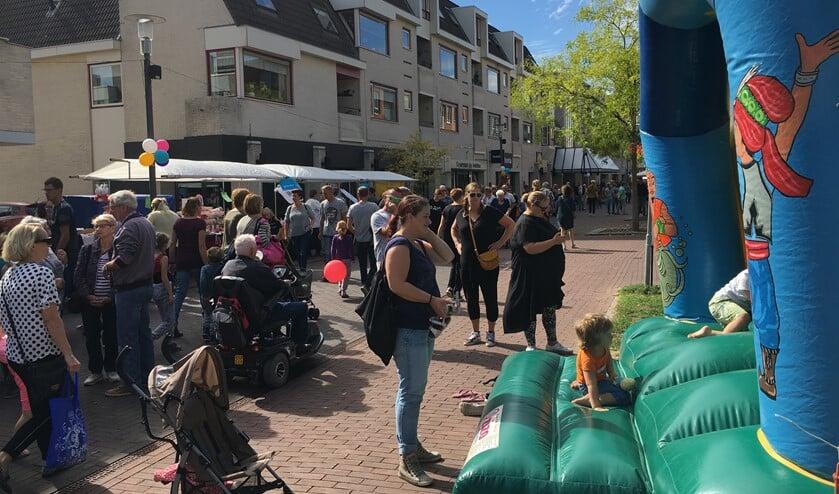 Het jaarlijkse Centrumfeest in Ulft zorgt voor vertier voor jong en oud. Foto: PR