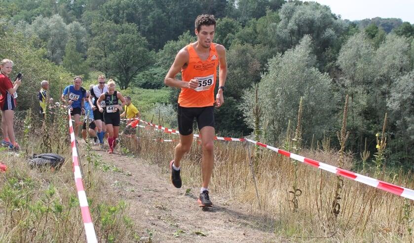 Mark te Brake bedwong de 'Berg' het best. Foto: PR