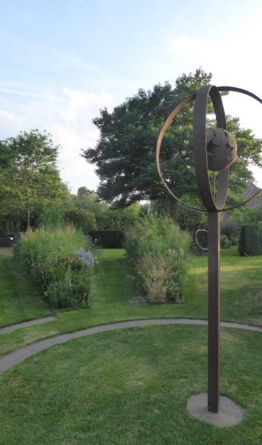 In de tuin van 't Meihuus wordt ook kunst tentoongesteld. Foto: PR
