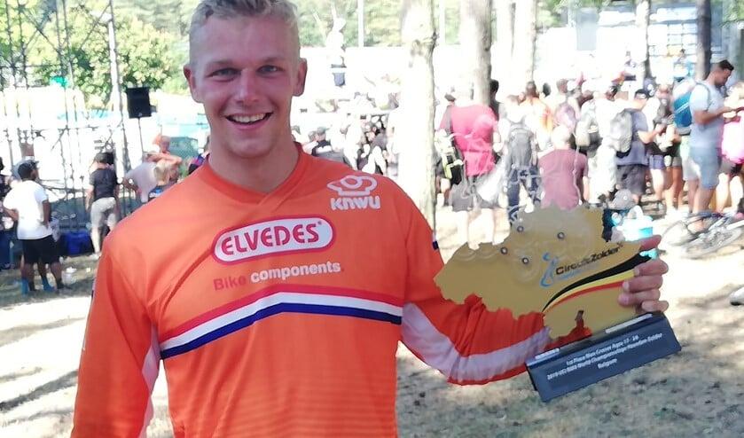 Kevin Elbers uit Lengel is wereldkampioen BMX. Foto: PR