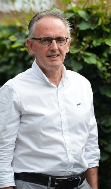De afscheid nemende Kermisvoorzitter Marcel Oldenkotte. Foto: Theo Huijskes