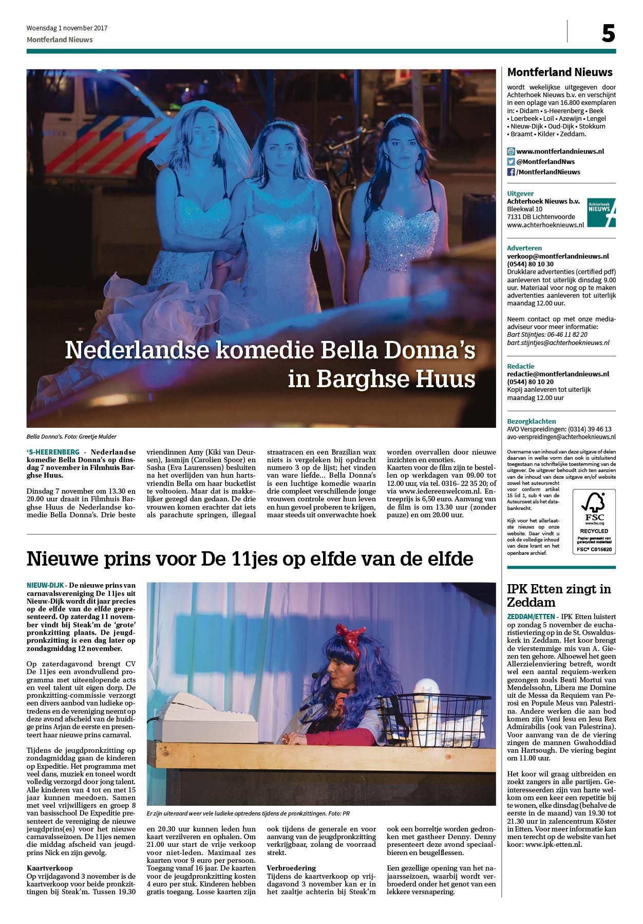 Montferland Nieuws 1 November 2017