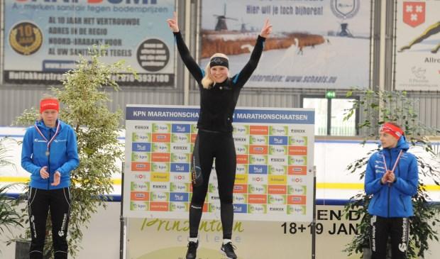 In twee weken tijd heeft Rachelle twee Nederlandse titel binnengehaald.
