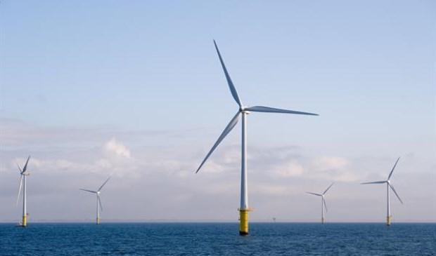Noordzee Windpark Egmond aan Zee Bron: https://beeldbank.rws.nl, Rijkswaterstaat / Sander de Jong