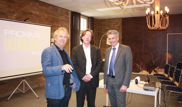 V.l.n.r. Nico Adrichem, Ed Bausch en Erik Minnema.