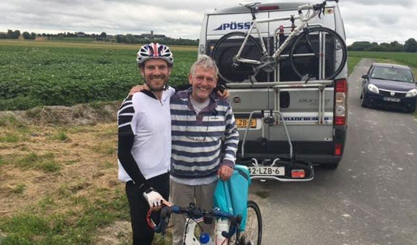 Bas (links) en Arie van Walraven