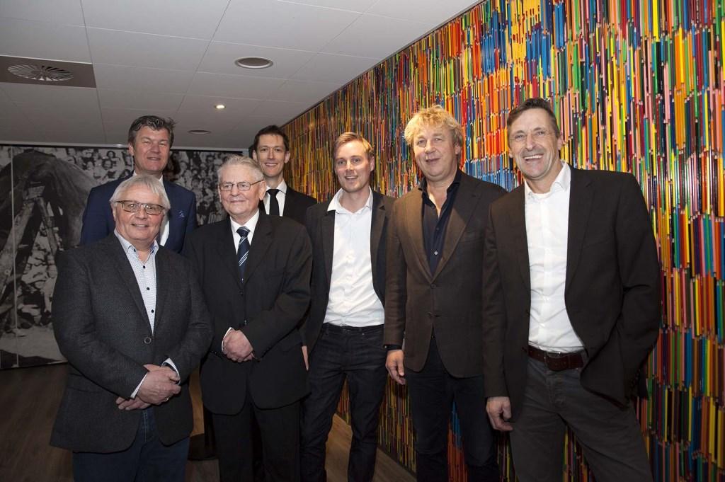 Betrokkenen bij de opening.  © Uitkijkpost Media B.v.