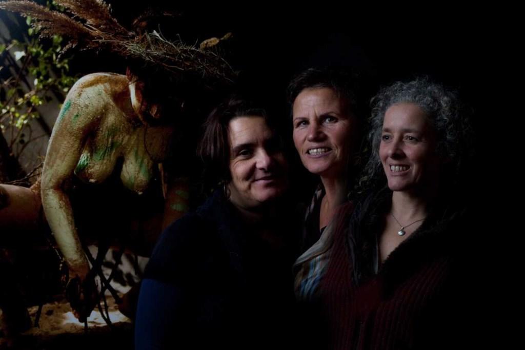 Vlnr: Sabrina Tacci, Marina Pronk, Eva Boon