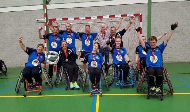 Team CSV (Castricum), halve finalist verkiezing Uniek Sporttalent 2017