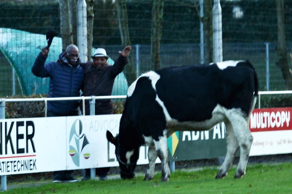 Deze heren sparen koeienpoep voor geluk en het verdrijven van kwade geesten Foto: Marianne Jonker © Uitkijkpost Media Bv.