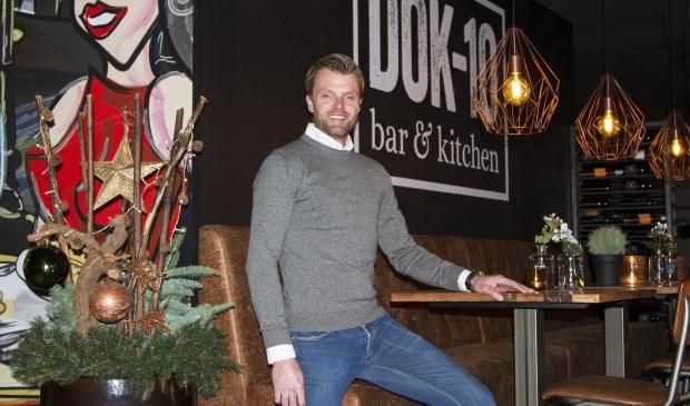 """Johan Slim verwelkomt u graag bij Dok-10 Bar & Kitchen: """"Laat u verrassen!"""""""