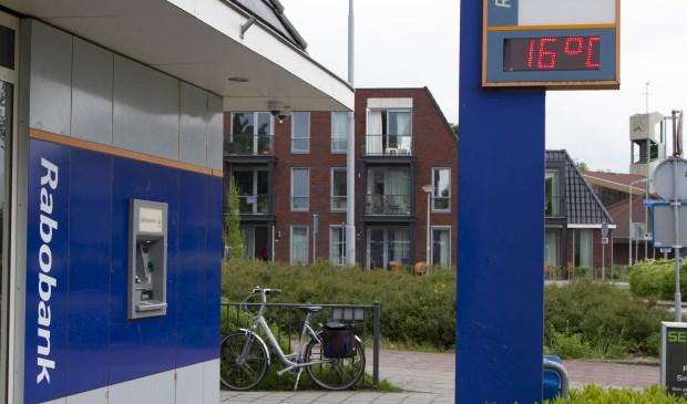 Het te sluiten geldautomaat in Akersloot