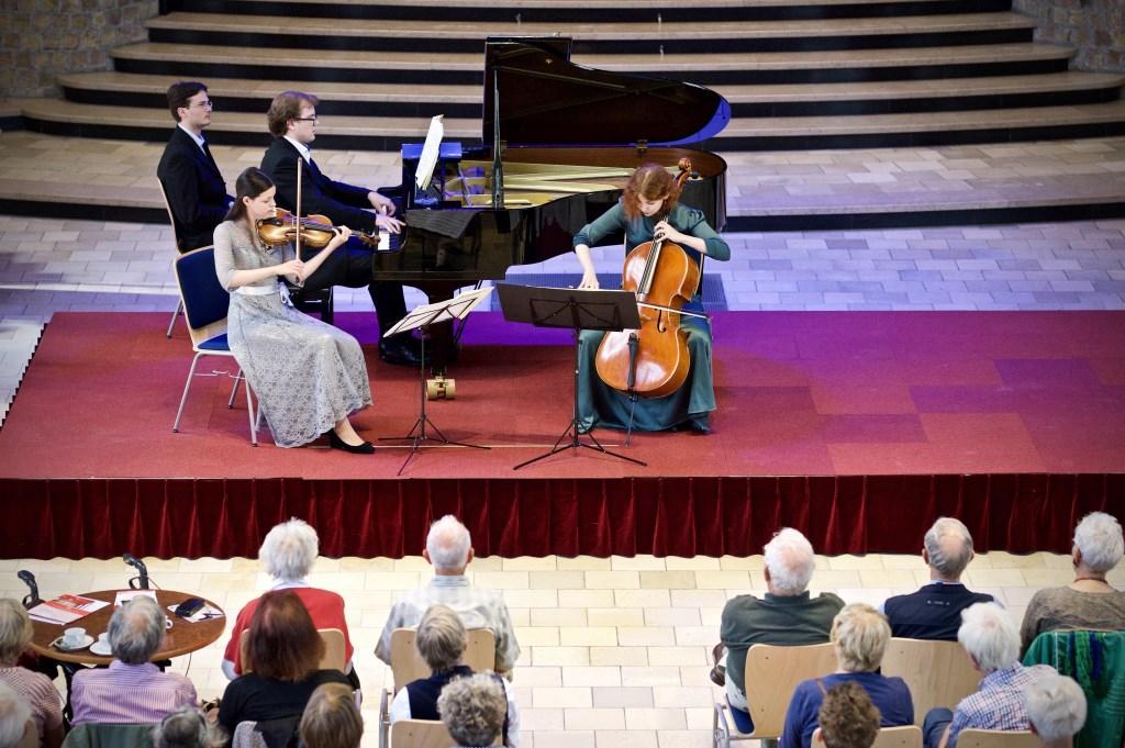 Trio Sensibility zondagmiddag 30 juli in de Cultuurkoepel in Heiloo.