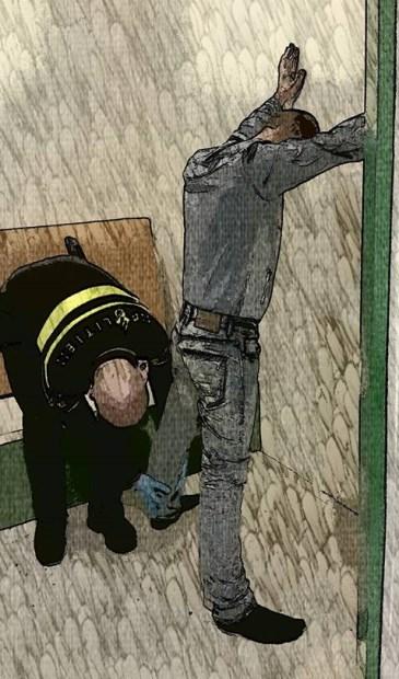 Illustratie via Facebookpagina Politie Alkmaar