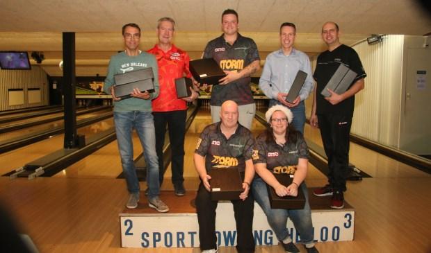 1e team Het Kersttrio 2, 2e team Teamwork, 3e team Dezelfde.