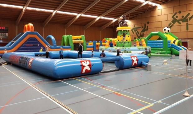 Sporten, springen en plezier maken in Sporthal De Zien