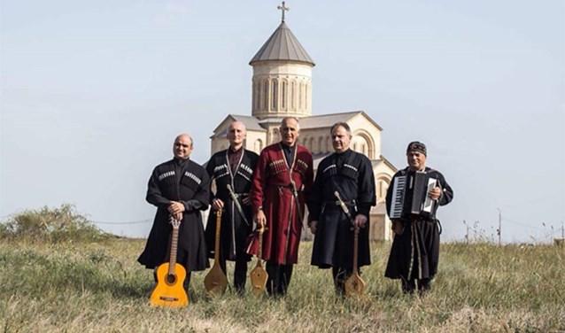 Het Georgische ensemble Khareba & Gogia