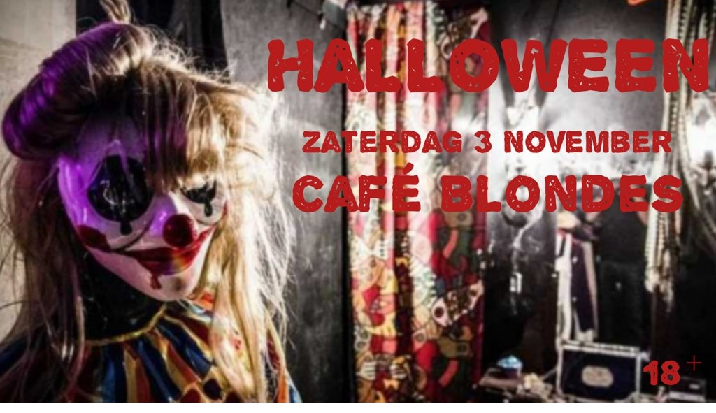 Halloween bij Café Blondes.  © Uitkijkpost Media B.v.