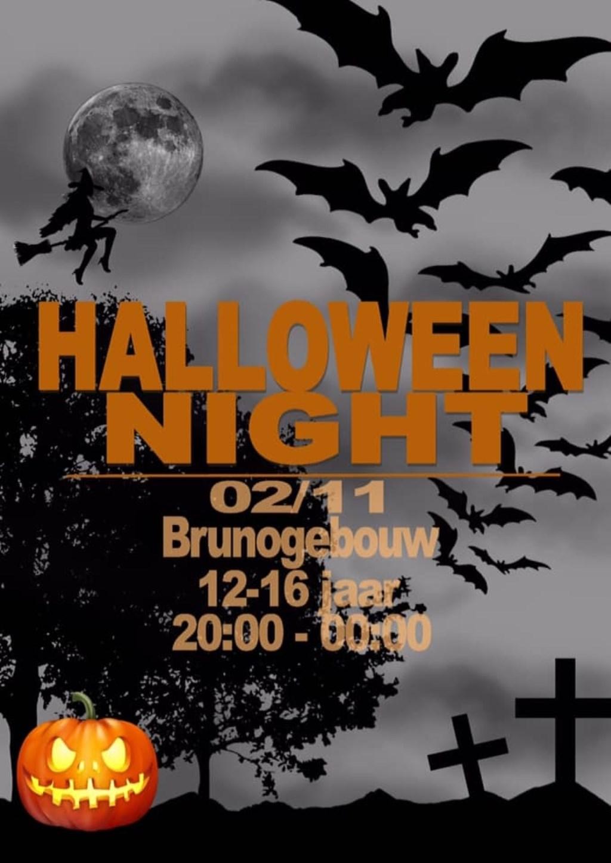 Halloween bij het Brunogebouw.  © Uitkijkpost Media B.v.