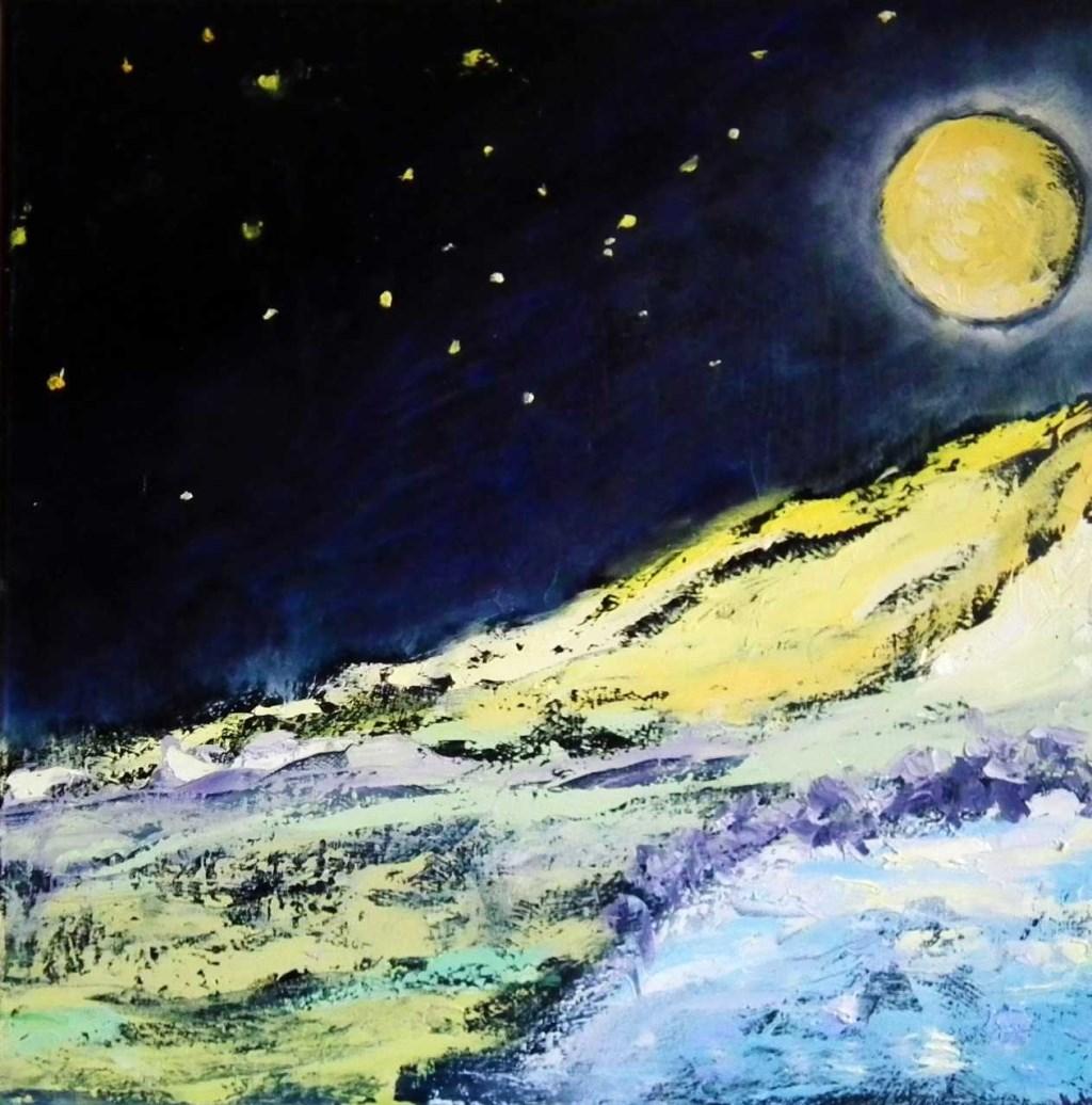 Maanverlicht Foto: Haluschi © Uitkijkpost Media B.v.
