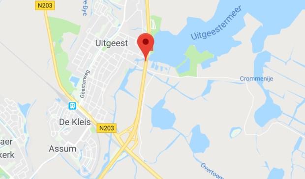 De A9 op Google Maps