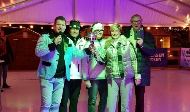 Team Baan 5 won het eerste Fluitketelcurl Toernooi van Heiloo.