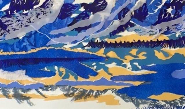Een deel van een werk van Conny Lahnstein.