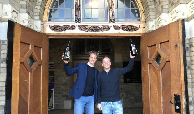 Tim van Hekken (links) en Bram Bruin.