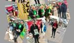Verkiezingscampagne winkelhof 't Loo
