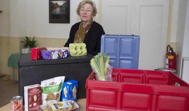 Greetje Plaisier, vrijwillig coördinator bij de Voedselbank Uitgeest / Akersloot.