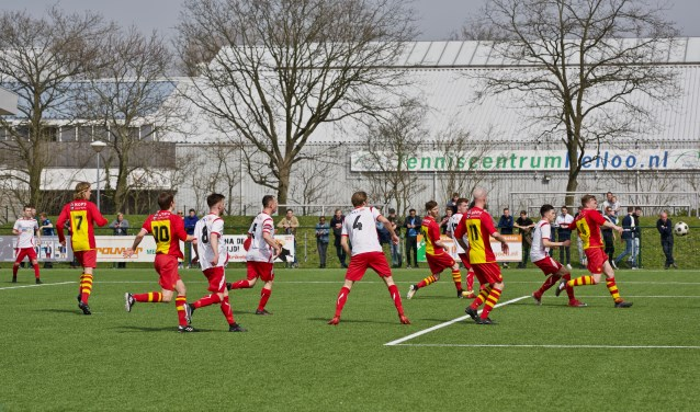 wedstrijd HSV-Foresters op 8-4-2018