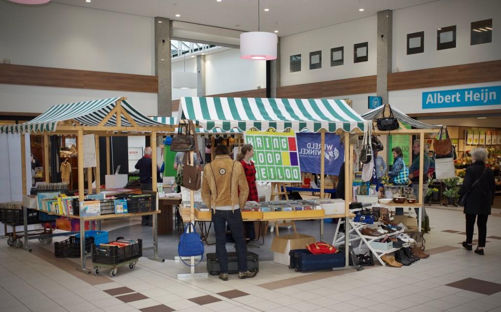 Gelijktijdig werd de dag van de Circulaire Economie gehouden in het winkelcentrum. STiP Fotografie © Uitkijkpost Media B.v.