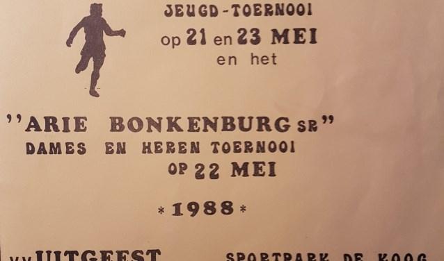 Uit het ICGT-archief: het programmaboekje uit 1988.