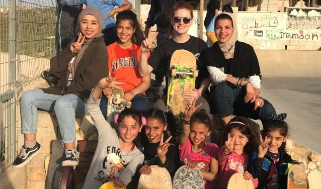 De organisatie Skatepal is verantwoordelijk voor het bouwen en onderhouden van skateboardparken in de Westelijke Jordaanoever.