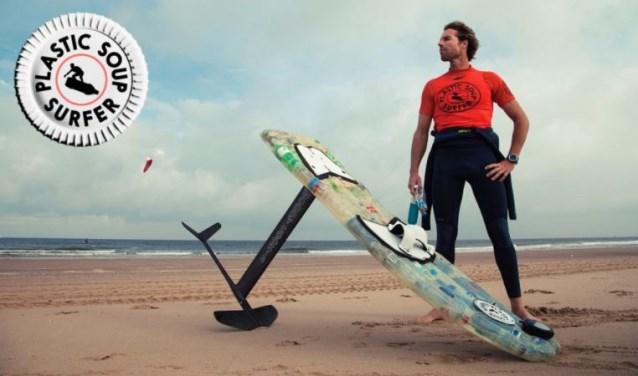 Merijn, de 'Plastic Soup Surfer'